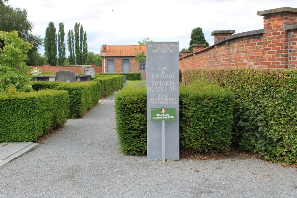 Monument en Ereperk Oudstrijders Berg