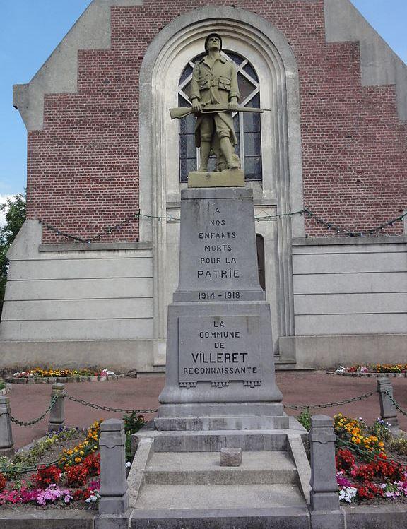 War Memorial Villeret