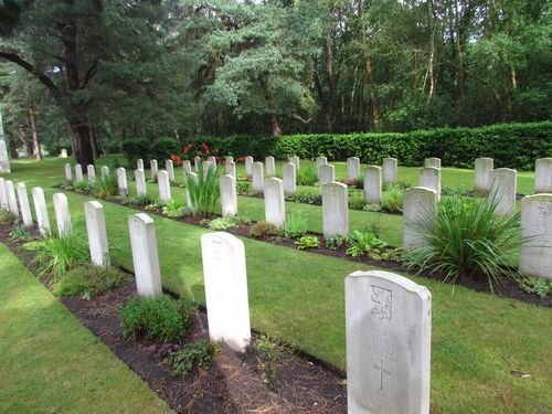 Belgian War Graves Brookwood Military Cemetery