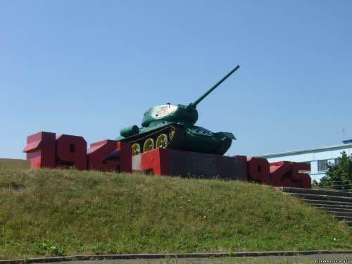 Bevrijdingsmonument (T-34/85 Tank) Piatykhatky