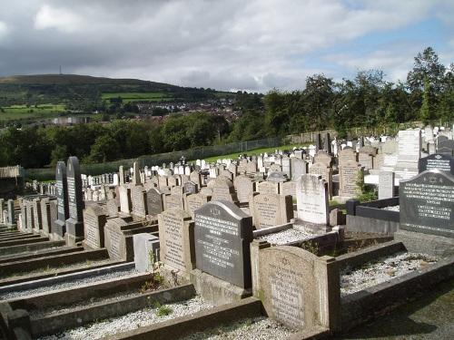 Polish War Grave Carnmoney Jewish Cemetery