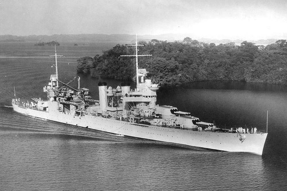 Shipwreck USS Vincennes (CA-44)