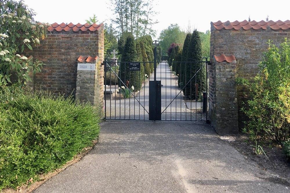 Nederlandse Oorlogsgraven Rooms Katholieke Begraafplaats Baarn
