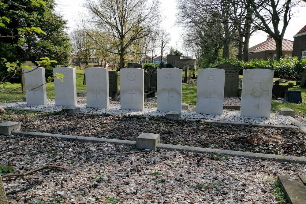 Oorlogsgraven van het Gemenebest Protestantse Begraafplaats Middelharnis