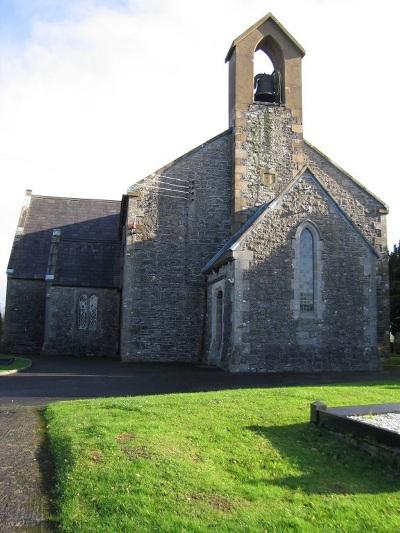 Oorlogsgraf van het Gemenebest Maguiresbridge Church of Ireland Churchyard