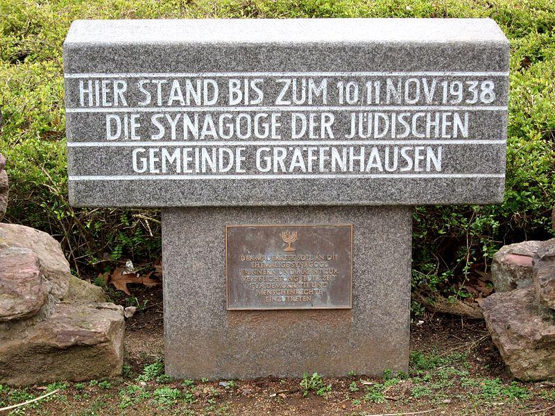Memorial Synagogue Gräfenhausen