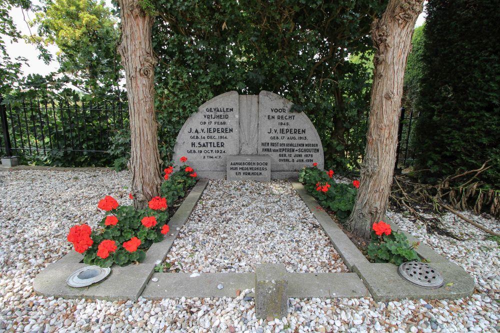 Dutch War Graves NH Churchyard Benschop