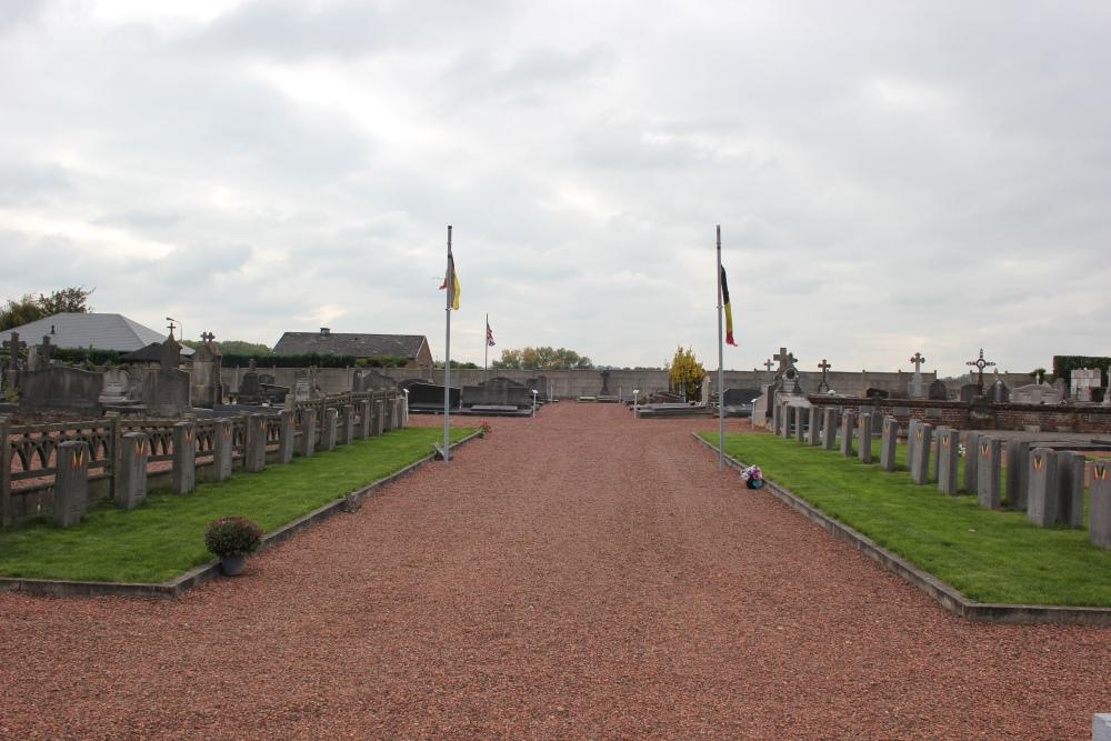 Veteran War Graves Ophain-Bois-Seigneur-Isaac