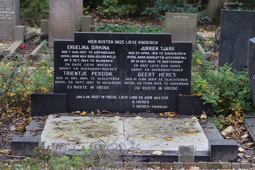 Dutch War Graves Municipal Cemetery Winkel