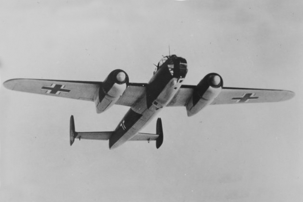 Crashlocatie Dornier Do 217 Nr. 0110