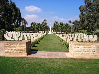 Commonwealth War Cemetery Fayid