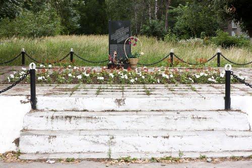 Collective Grave Soviet Soldiers Nizhny Novgorod