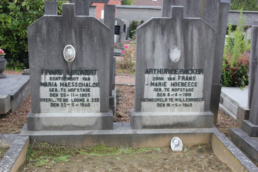 Belgian War Graves Hofstade