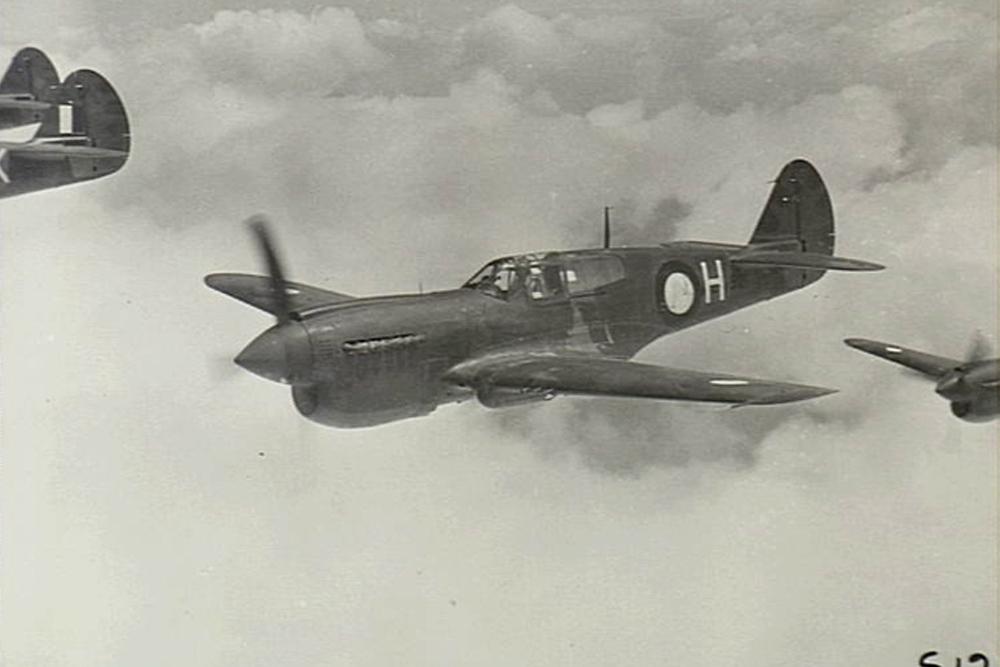 Crashlocatie P-40K-10-CU Kittyhawk # A29-188