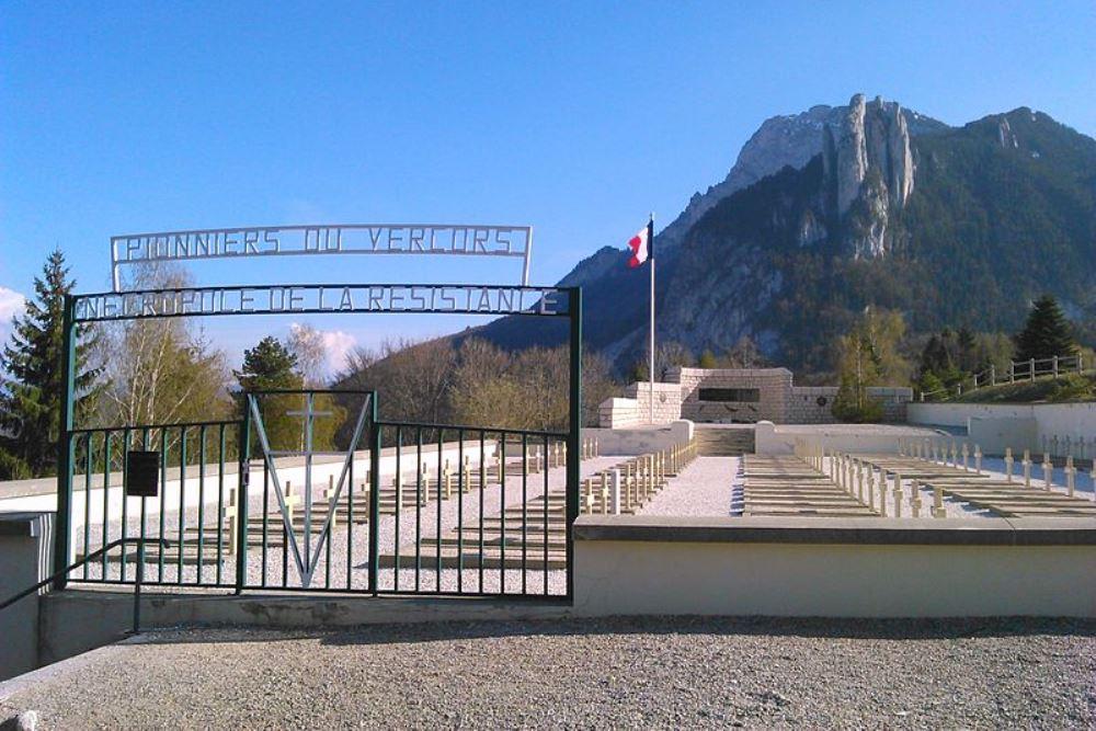 Franse Verzetsbegraafplaats Saint-Nizier-du-Moucherotte
