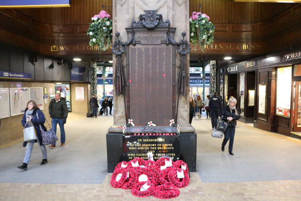 War Memorial Caledonian Railway