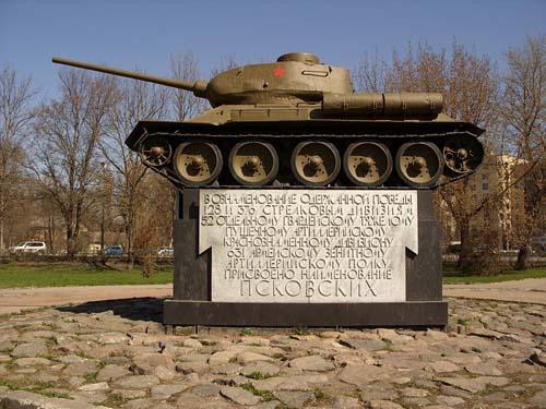 Bevrijdingsmonument (T-34/85 Tank) Pskov