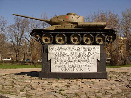 Liberation Memorial (T-34/85 Tank) Pskov