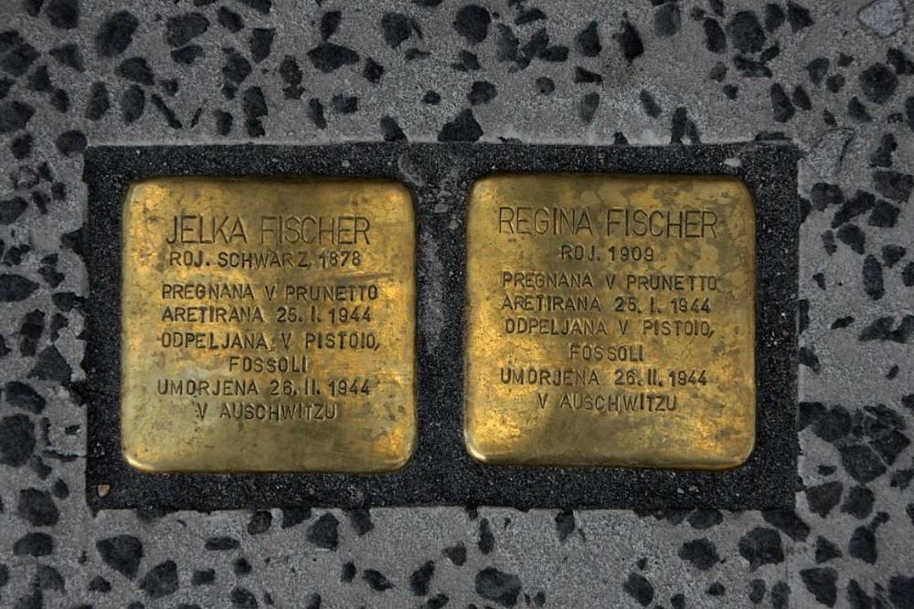 Stumbling Stones Dalmatinova ulica 15
