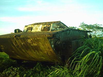 LVT-2 Landing Vehicle Tinian