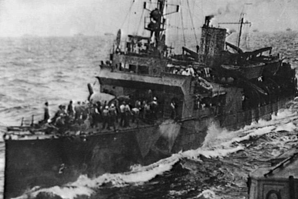 Scheepswrak USS Colhoun (DD-85/APD-2)