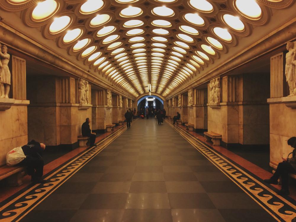 Metro Station Elektrozavodskaya