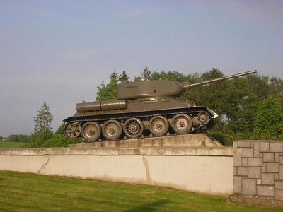 Bevrijdingsmonument (T-34/85 Tank) Sudice