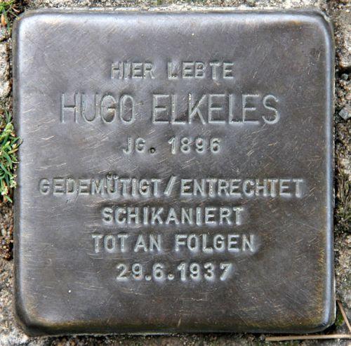 Stolperstein Hubertusallee 8