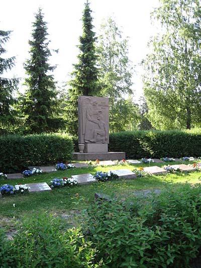 Finse Oorlogsgraven Oripää
