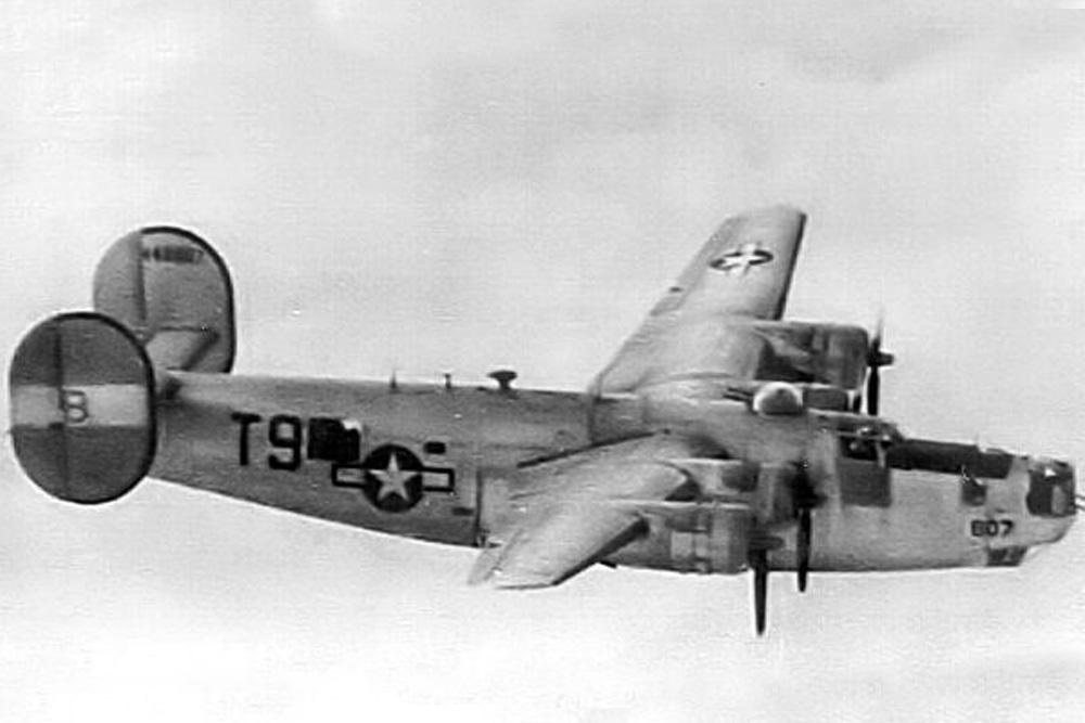 Crash Site & Remains  B-24J-80-CO Liberator 42-100225 Tail V