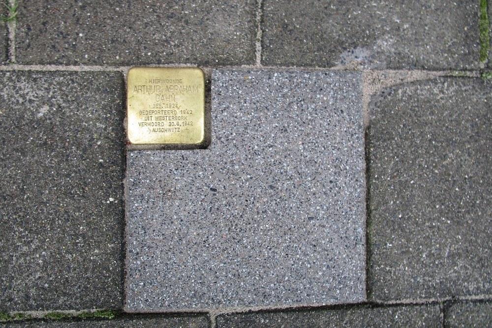 Stumbling Stone Lisstraat 52A