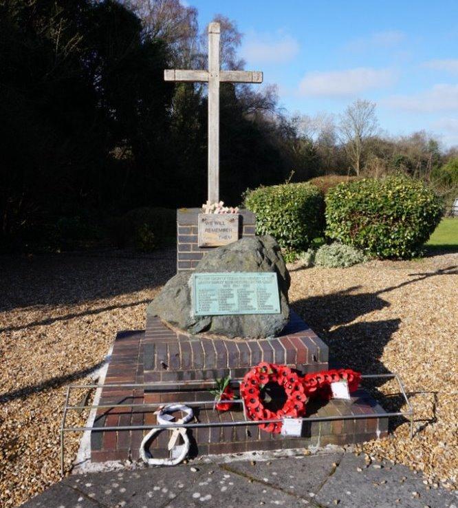 War Memorial Dawley Parva