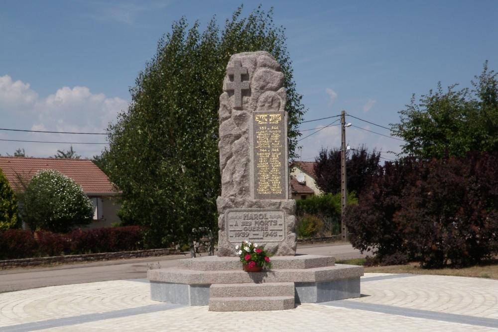 World War II Memorial Harol