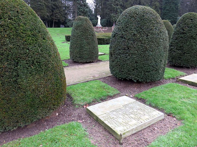 Collective Grave Freedom Fighters 1813-1815 Cemetery Friedhof Ohlsdorf Hamburg