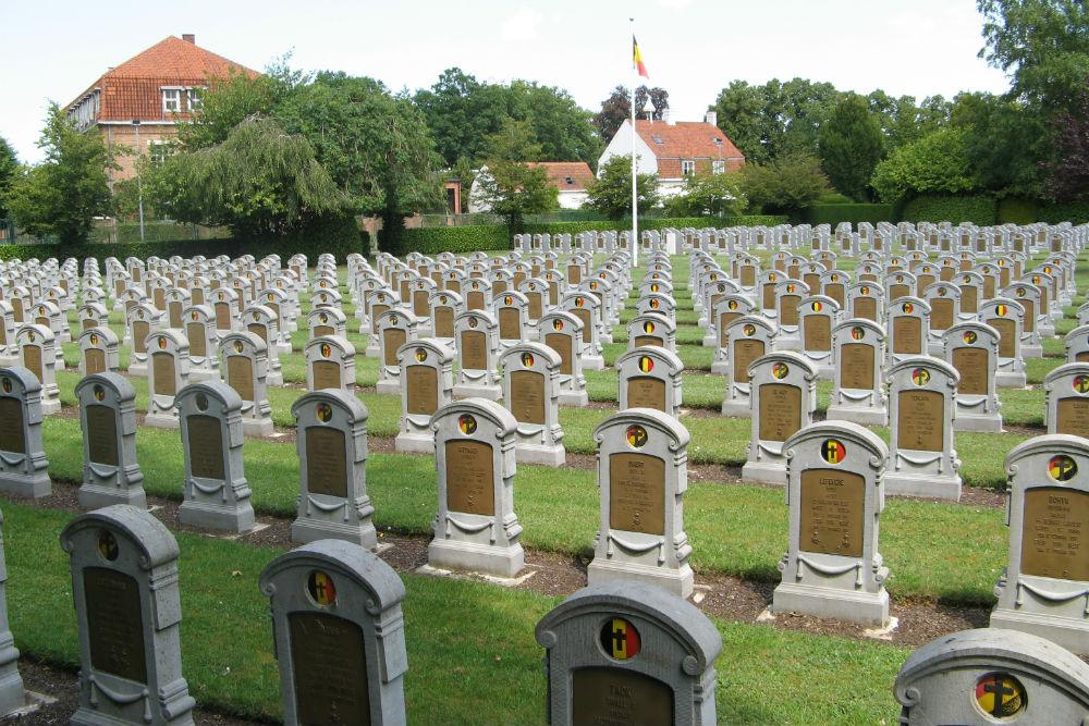 Belgische Oorlogsgraven Centrale Begraafplaats Brugge