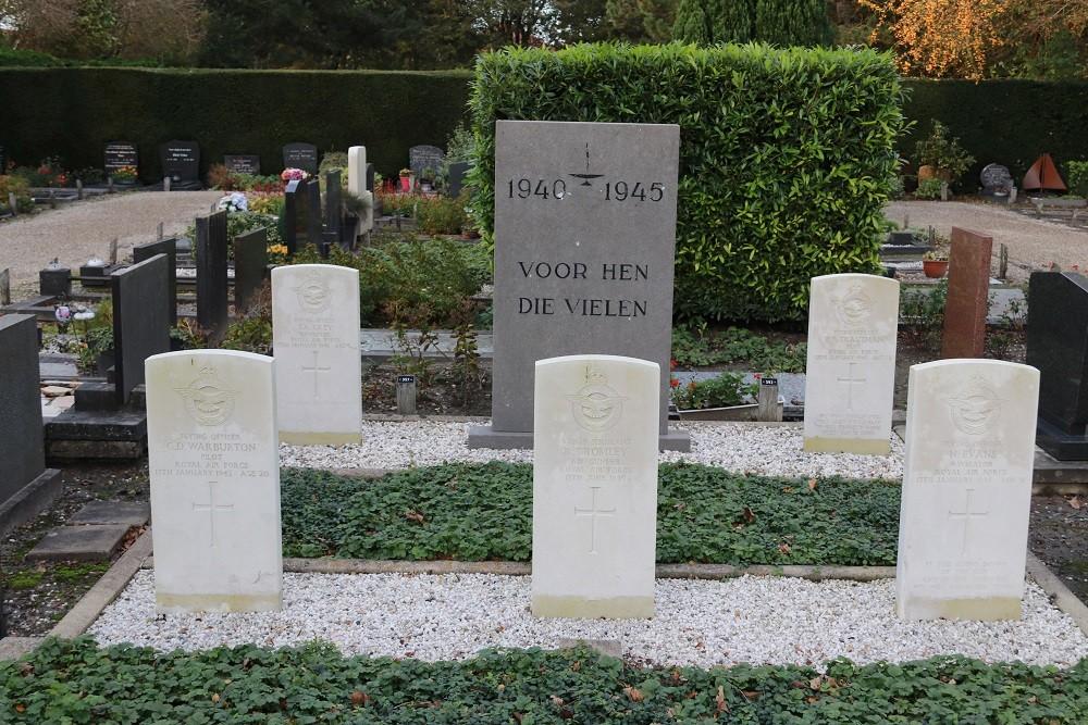 Commonwealth War Graves General Cemetery Wieringerwaard