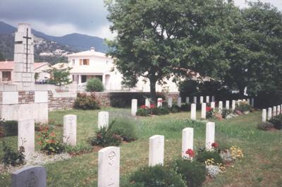 Commonwealth War Cemetery Biguglia