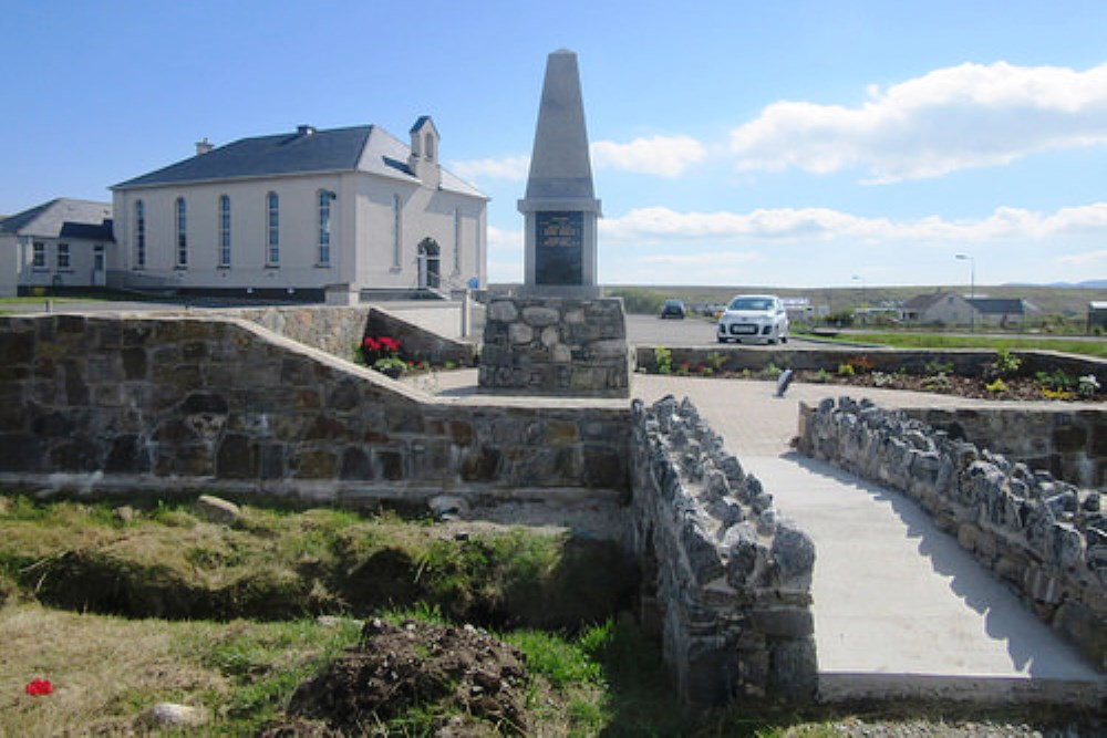 War Memorial Lower Barvas, Upper Barvas and Brue