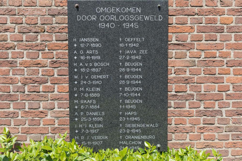 War Memorial Beugen