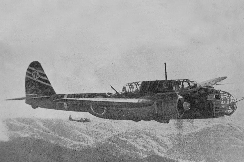 Crash Site & Remains Kawasaki Ki-48-II