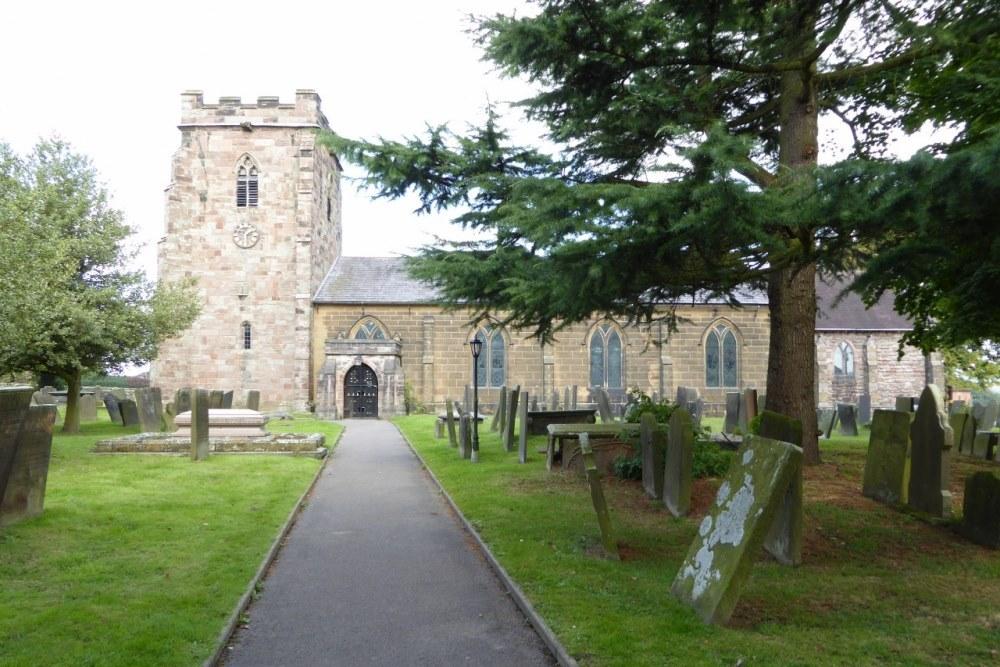 Oorlogsgraven van het Gemenebest St. Werburgh Churchyard