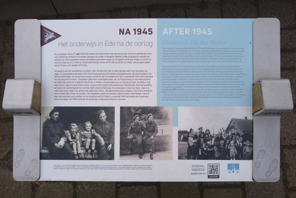 Information Sign Education in Ede after the War