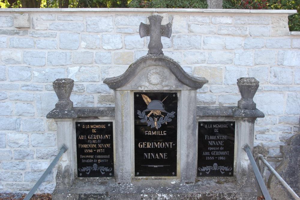 Graven Oudstrijders Comblain-la-Tour