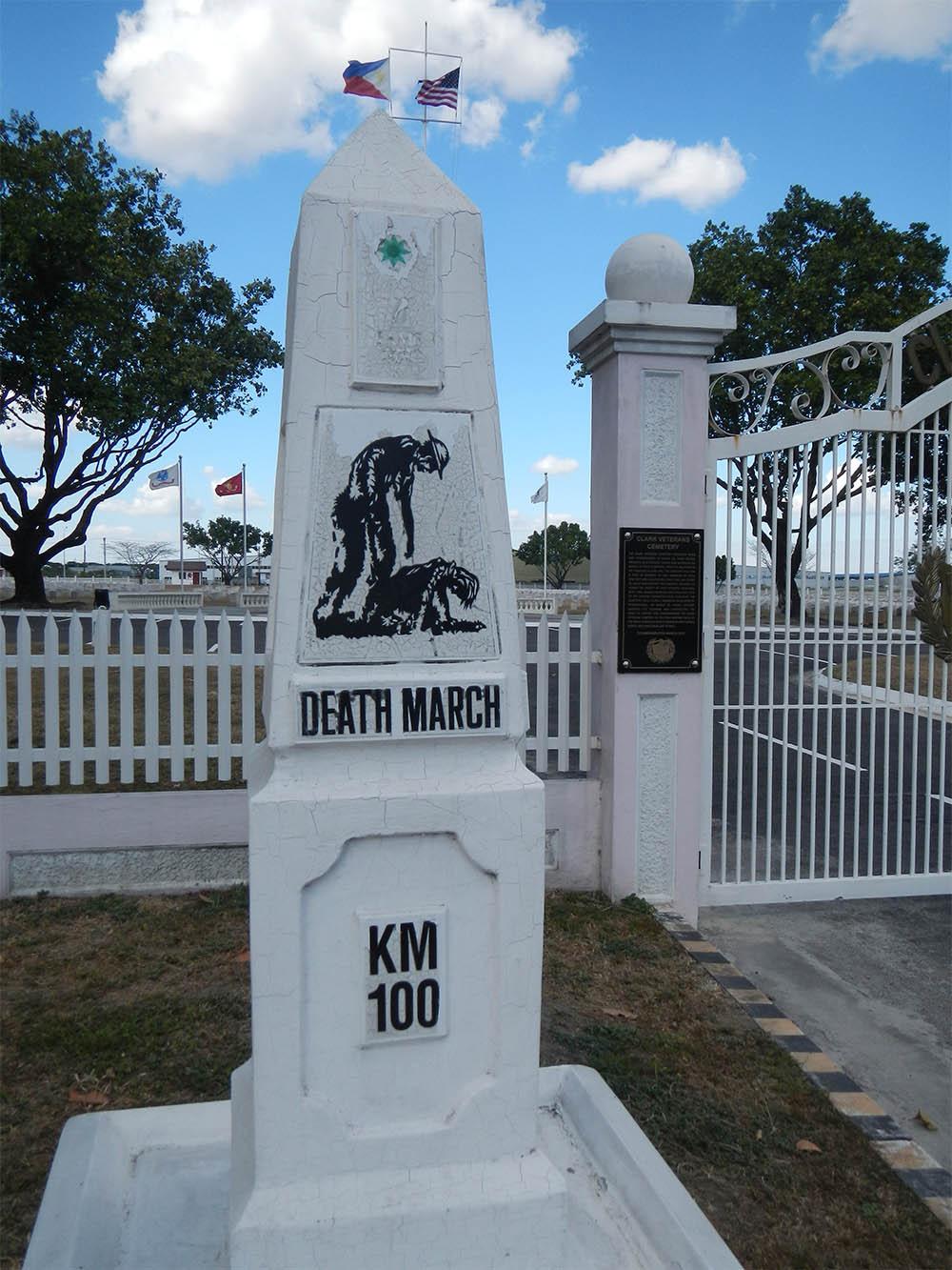 Marker Bataan Death March