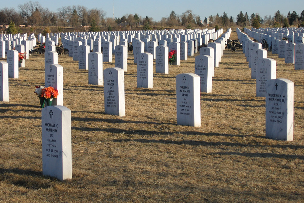 American War Graves Fort Logan National Cemetery