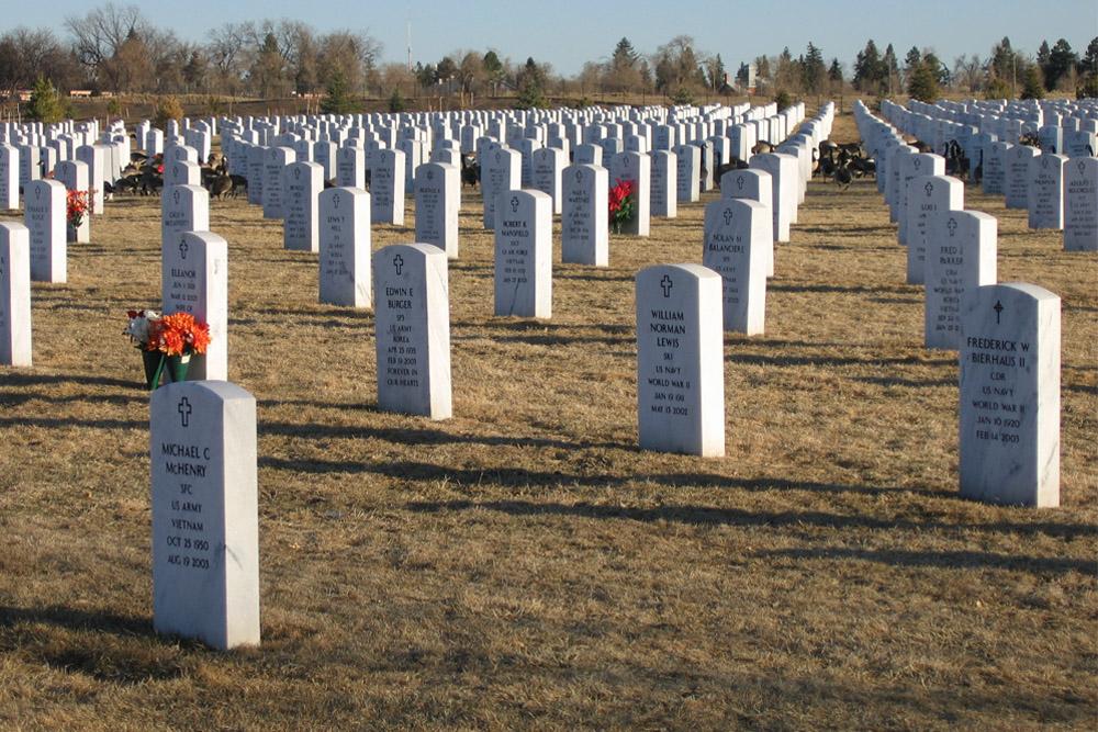 Amerikaanse Oorlogsgraven Fort Logan National Cemetery