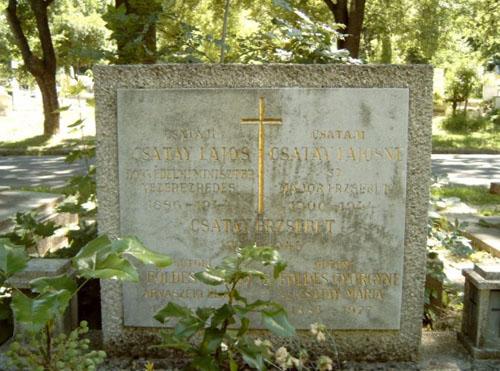 Grave Colonel General Lajos Csatay