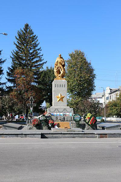 Mass Grave Soviet Soldiers Kalynivka