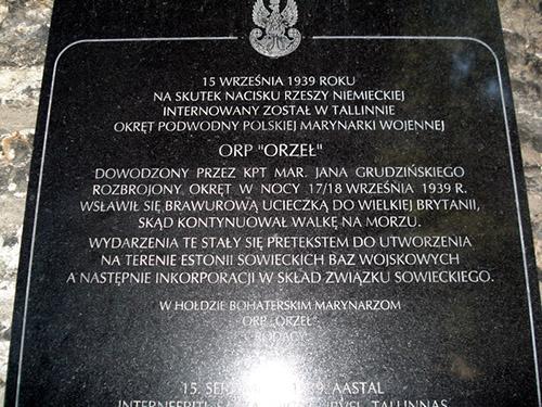 Plaquette ORP Orzel