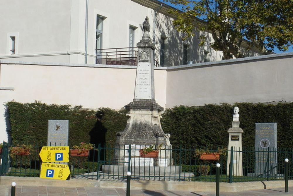 War Memorial Piolenc